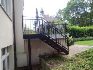 Stahlbalkone - Stahlterrassen und Außentreppen 003
